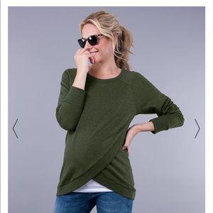 Seraphine Sybil Sweatshirt for Nursing/Maternity